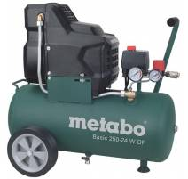 Metabo Basic 250-24 W OF Bezolejový kompresor, 601532000