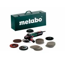 Úhlová bruska WEV 15-125 Quick Inox Set Metabo 600572500