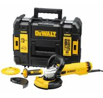 DeWALT DWE4217KT Bruska na beton 125mm, 1 200 W set