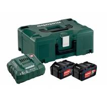 Metabo Basic-Set 2 x Li 4,0 Ah + ML + METALOC 685064000