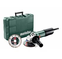 Metabo W 850-125 SET Úhlová bruska 125mm, 603608510