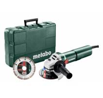 Metabo W 1100-125 SET Úhlová bruska 125mm, 603614510
