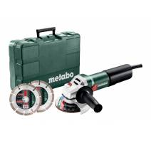 Metabo WQ 1100-125 SET Úhlová bruska 125mm, 610035510