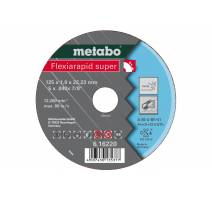 Metabo FLEXIARAPID SUPER Kotouč INOX, TF 41 125x1,0x22,23
